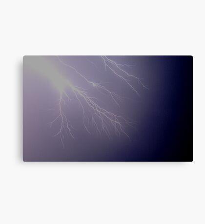 Lightning Fingers Canvas Print