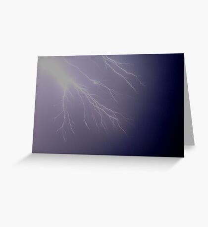 Lightning Fingers Greeting Card
