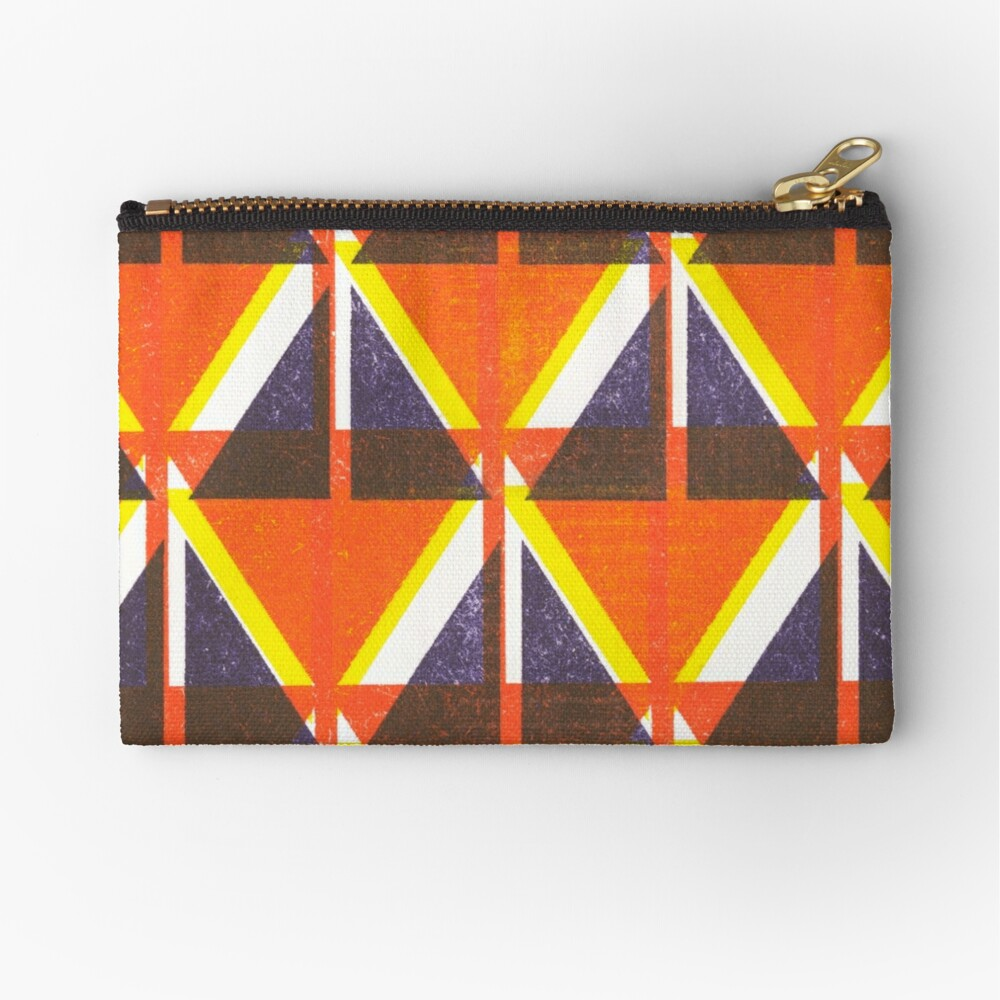 Happy little accident Zipper Pouch