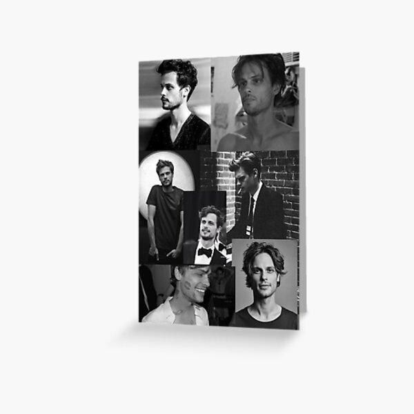 Matthew Gray Gubler Greeting Card