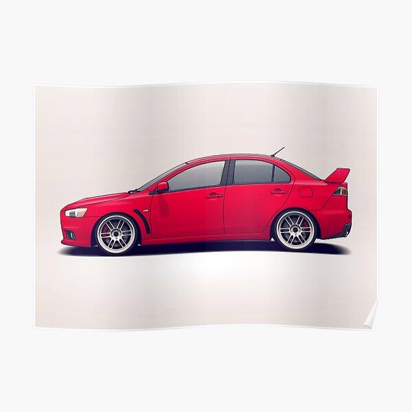 Slammed Car Posters Redbubble