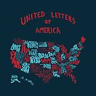 United Letters of America by ThePencilClub
