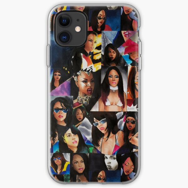 Aaliyah: Music Legend  iPhone Soft Case