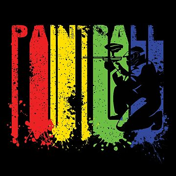 Funny Paintball T Shirts for Men Women Paintball Lovers Gift by KhushbooLohia