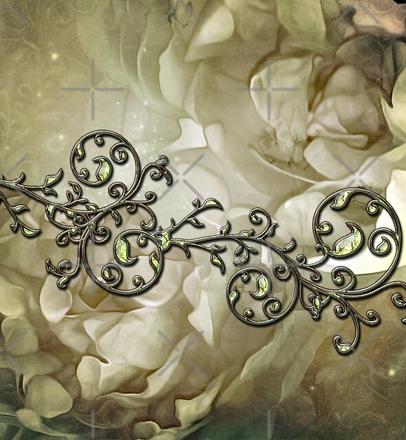 A touch of vintage, wonderful floral design by nicky2342