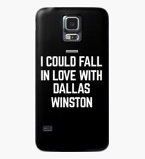 I HEART DALLAS WINSTON Case/Skin for Samsung Galaxy
