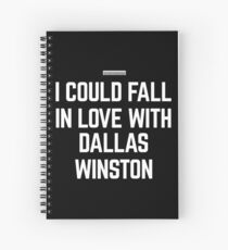 I HEART DALLAS WINSTON Spiral Notebook
