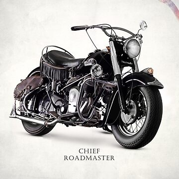 The Chief Roadmaster Vintage Motorcycle by rogue-design
