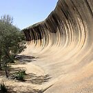 Wave Rock by Clive