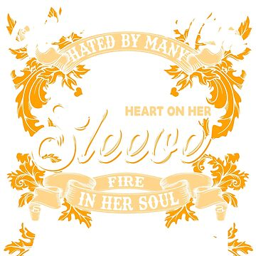 Tattooed Mom hated by many loved by plenty heart on her sleeve funny women by anphasox