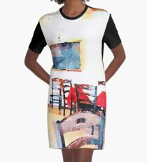 Hotel Sgroi's dining room Graphic T-Shirt Dress