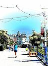 A Stroll Along The Upper Promenade Eastbourne by Dorothy Berry-Lound