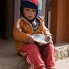 Nepalese Child by Mark Poulton