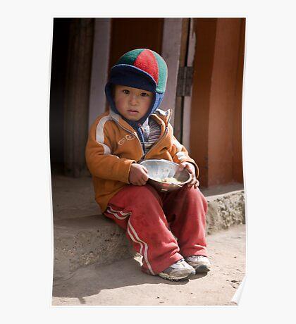 Nepalese Child Poster