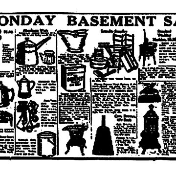 Monday Basement Sale ('Simpsons dpt. store') Advert. by timothybeighton