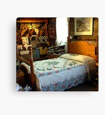Quilted Keepsakes Canvas Print