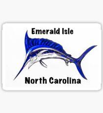 Emerald Isle Marlin  Sticker