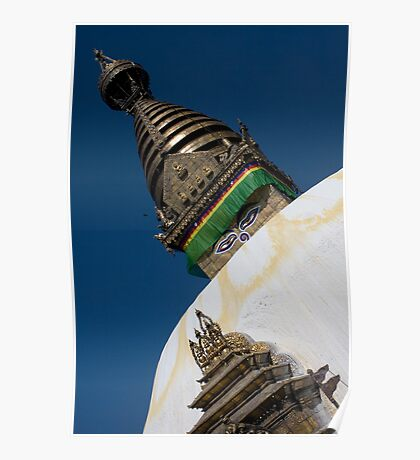 Kathmandu Temple Poster