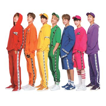 Etiqueta linda del grupo - BTS Bangtan de KpopTokens