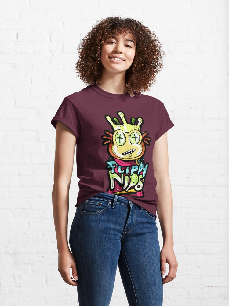 Alternate view of King Flippy Nips from Rick and Morty™ Classic T-Shirt