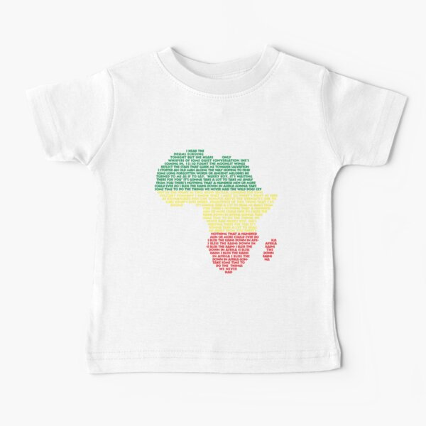 África de Toto Camiseta para bebés