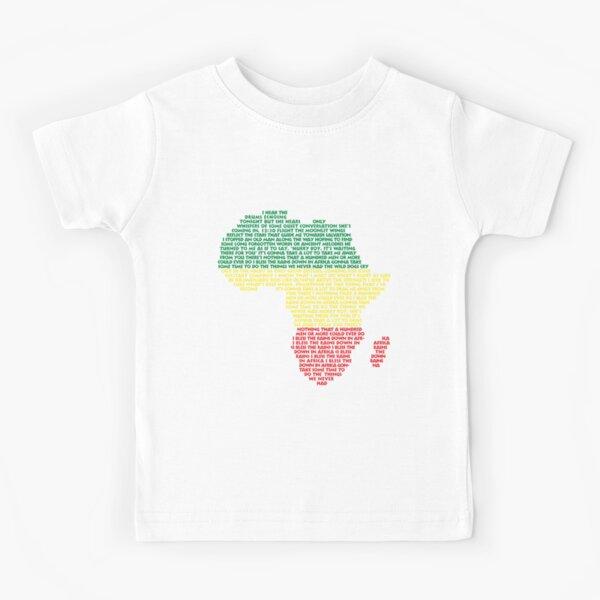 África de Toto Camiseta para niños