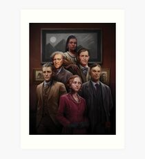 The Carlyle Expedition by Victor Leza Art Print