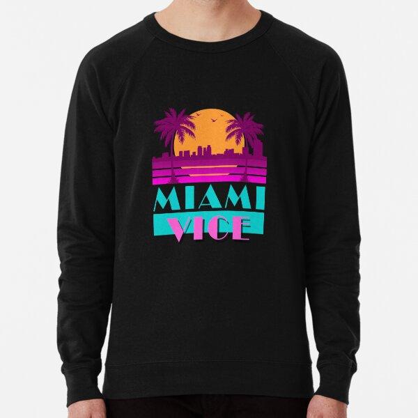 Miami vice - design années 80 Sweatshirt léger