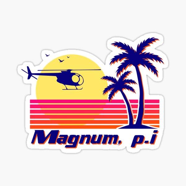 Magnum pi  Sticker