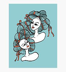 Ramen Girls Photographic Print