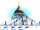 Golden Dome Eastbourne Pier by Dorothy Berry-Lound