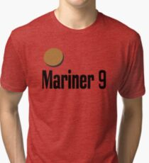 Mariner 9 Exploring Mars Red Planet Tri-blend T-Shirt