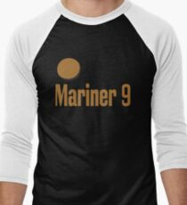 Mariner 9 Exploring Mars Red Planet Men's Baseball ¾ T-Shirt