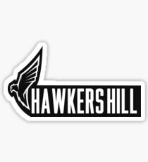 Hawkers Hill Gym Banner Tee Sticker