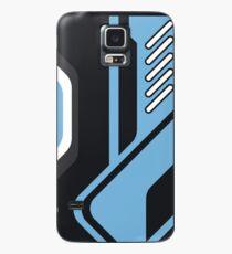 Funda/vinilo para Samsung Galaxy CSGO | Patrón azul y negro