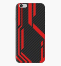 CSGO | Rotes & graues Muster iPhone-Hülle & Cover