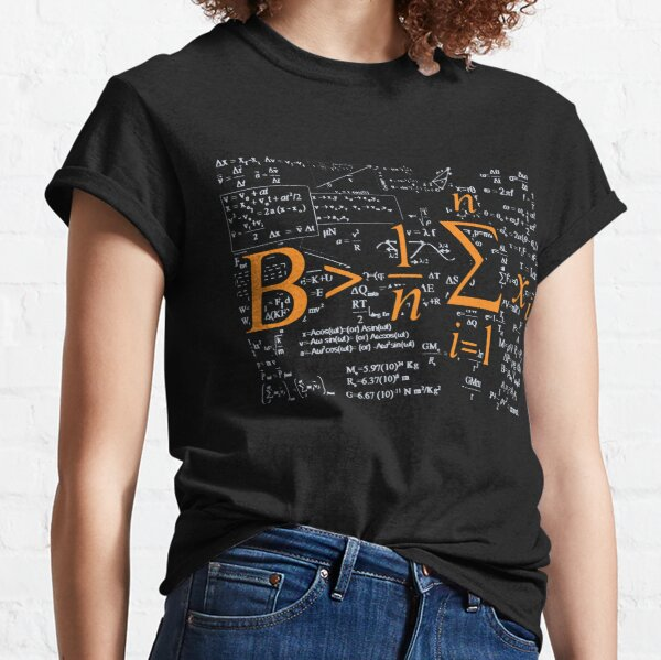 'Be Greater Than Average' Cool Math 2.0 Day Mathematic  Classic T-Shirt