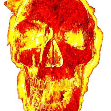 NASA Sun Skull: Go Solar Or Die by worn