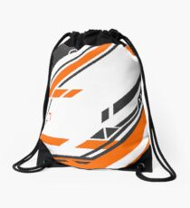 CSGO | Black & Orange v2 Drawstring Bag