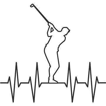 Golfer Golfing Gift Birthday Golfer by shirter12