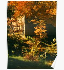 Autumn in Sturbridge Poster