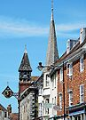Lewes High Street Viewpoint by Dorothy Berry-Lound
