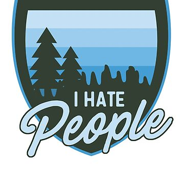 I hate people by artack
