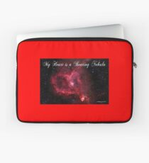 My Heart is a Beating Nebula Laptop Sleeve