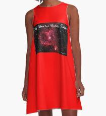 My Heart is a Beating Nebula A-Line Dress