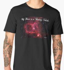 My Heart is a Beating Nebula Men's Premium T-Shirt