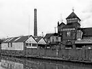 Harveys Brewery Lewes Black and White by Dorothy Berry-Lound