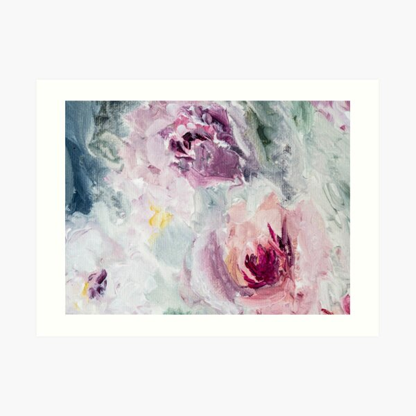 Fallen Roses 01 Art Print