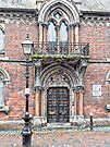 Front Entrance Fitzroy House Lewes by Dorothy Berry-Lound