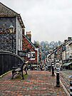 Cliffe Bridge Lewes Side View by Dorothy Berry-Lound